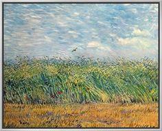 Framed Canvas Print: Framed Dutch Art Art by Vincent van Gogh : 23x28in