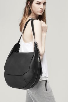 Bradbury Large Flap Hobo | rag & bone