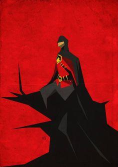 102 Red Robin by on DeviantArt Batgirl, Nightwing, Tim Drake Red Robin, Robin Dc, I Am Batman, Batman Art, Batman Universe, Dc Universe, Stephanie Brown