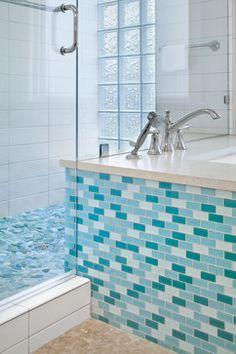 aqua bathroom 5 x 7 Aqua Bathroom, Bathroom Ideas, Sink, Bathtub, Bathrooms, Home Decor, Sink Tops, Standing Bath, Vessel Sink