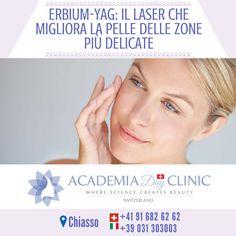 Academia Day Clinic 📍 Chiasso 📍  Erbium-Yag: il laser che migliora la pelle delle zone più delicate =========== http://www.academiadayclinic.ch/it/intervento-trattamento-medicina-estetica/laser-erbium-yag ===========  #lasererbiumcosti #lasererbiumopinioni #lasererbiumeffetticollaterali #lasererbiumyagfrazionato #lasererbiumfrazionatocosti #lasererbiumcicatriciacne #fractionallaser #laser #lasertechnology #fractionaltechnology #mostinnovative #innovative #skin #improvement #regeneration…