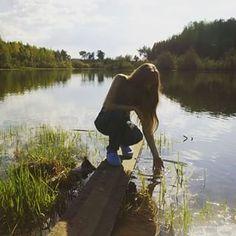 Чистейшая вода...свежий воздух...и не души вокруг...приключения начинаются ....что еще для счастья надо?! #instaparty #travel #party #photo #рыбалка #отдых #природа #приключения #MariaNovikova