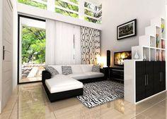 Gambar Ruang Keluarga Dengan Konsep Minimalis Terbaru Tamu Kecil Tv Vacant Land