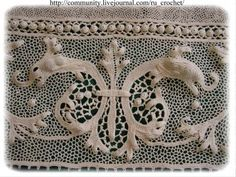Knit crochet) - Lace of Orvieto. Masterpieces in detail)