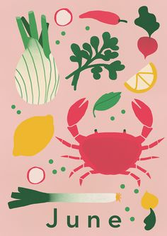 My favourite recipe this month is from Elly Pear's cookbook Fast Days and Feast Days; the fennel and crab salad ( I added peas). And all the ingredients are in season next month , hooray!