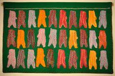 Image result for irene avaalaaqiaq Inuit Art, Irene, Needlework, Marie, Tapestry, Jeanne, Flags, Flowers, People