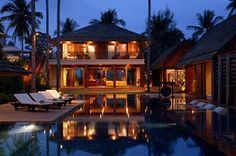 Asia House of the Day: Beachfront Villa in Koh Samui, Thailand for Sale- Photos - WSJ.com