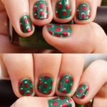 10 Totally Easy Holiday Nail Ideas | HelloNatural.co