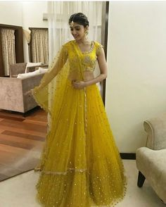 55 Bridal Lehenga designs that will inspire you - Wedandbeyond Half Saree Lehenga, Lehenga Gown, Indian Lehenga, Bridal Lehenga, Saree Blouse, Anarkali, Half Saree Designs, Lehenga Designs, Blouse Designs