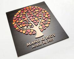 Guest Book matrimonio alternativa 3D ospite libro matrimonio