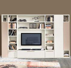 Buy Faenza Wall Unit for Sale at Deko Exotic Home Accents. Faenza bookcase wall unit with clean lines exemplifies exceptional Italian design where form meets functionality.