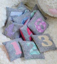 Counting Bags | Number Bags great for little ones learning how to count! | Count Objects