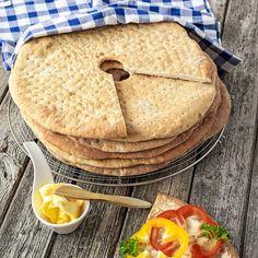Stora, mjuka grahamskakor som är supergoda till frukost och mellanmål.