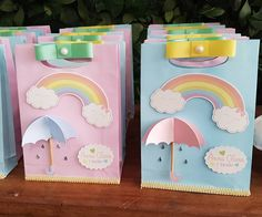 Rainbow skies party - by Anna Clara! Rainbow Birthday Party, Rainbow Theme, Unicorn Birthday Parties, Rainbow Baby, Unicorn Party, First Birthday Parties, Birthday Party Themes, First Birthdays, Cloud Party