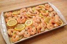 Roasted Shrimp with Lemon and Garlic | G-Free Foodie #GlutenFree #Paleo