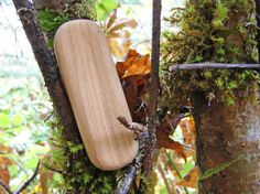 LOVE these natural wood rattles made from found wood in Oregon by Earnest Efforts