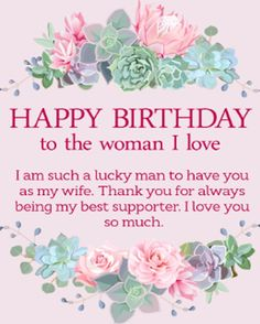 Happy Birthday Wishes For Wife _ Romantic Birthday Wishes For Wife - My Wishes Club Happy Birthday Wife Quotes, Birthday Message For Wife, Happy Birthday Wishes For Her, Birthday Greetings For Women, Romantic Birthday Wishes, Birthday Wishes For Girlfriend, Happy Birthday Brother, Birthday Quotes For Daughter, Husband Birthday
