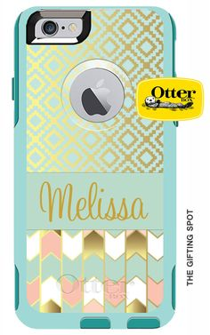 Monogrammed OtterBox Commuter Personalized Phone by TheGiftingSpot