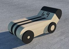 When we are young kids, many of us would like to be rally drivers. Toy cars made out of maple wood.  Designer: Artur Grab