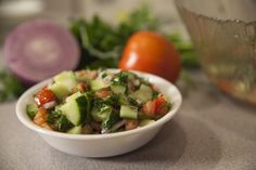 How to Make Traditional Israeli Salad. The everyday food resource for our generation.