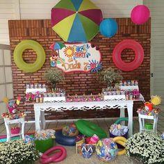 Decoração de Festas By Catia Lins: POOL PARTY