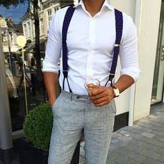 If you are a frequent user of suspenders, you should consider the button-solution over the clips. It looks more sturdy, better and just all in all, like you know more of what you are doing. It's like a clip-on-bowtie VS a self-tied bowtie.