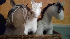 For Your Easter Basket! - Pretty Little Ponies by Christmas at Heart (available as a kit)