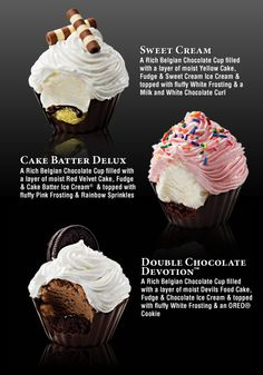 Ice Cream Cupcakes!