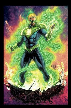 Green Lantern Earth 2 by Joe Prado