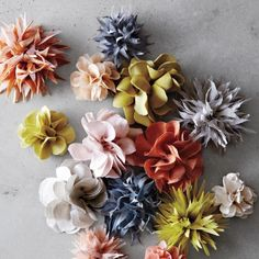 Pretty Pansy Fabric Flowers