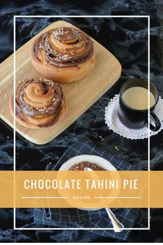 Οι πιο αφράτες ταχινόπιτες που έχεις δοκιμάσει. Για περισσότερο ενδιαφέρον, βάζεις ταχίνι με κακάο. Το Ταχίνι είναι βασιλικό υλικό. Ευλογία που ανακαλύφθηκε. Tahini, Pie Recipes, Chocolate, Ethnic Recipes, Food, Essen, Chocolates, Meals, Brown