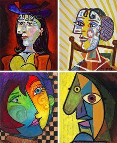 picasso15 Το πρόσωπο και ο Picasso body