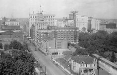 Portland, Oregon - Broadway from the brand new in 1923