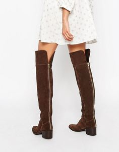 aa34af45fc8 Discover Fashion Online Brown Thigh High Boots