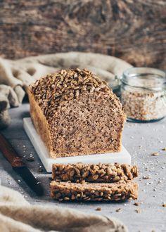 Best Buckwheat Chia Bread Gluten Free Bagels, Gluten Free Baking, Vegan Baking, Gluten Free Bread Recipe No Yeast, Gluten Free Bread Recipe Easy, Healthy Bread Recipes, Baking Recipes, Vegan Recipes, Healthy Gluten Free Bread