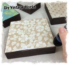 "I added ""Diy Vintage Wooden Block Projects"" to an #inlinkz linkup!http://mixedkreations.com/blog/2015/03/diy-vintage-wooden-block-projects/"