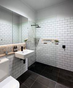 West Footscray Kitchen and Bathroom contemporary-bathroom