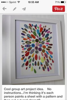 Shrinky DInks Framed makes a great idea for a class project!
