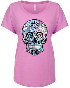 Pretty Lilac Skull Tee - FTGS