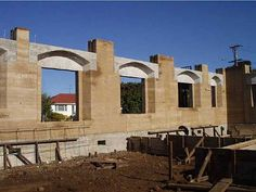 25-Rammed-earth-home.jpg - An example of rammed earth construction in Maharishi Vedic Architecture.