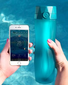 This water bottle with an app to make sure you stay properly hydrated. | 17 Products For Anyone Who Drinks A Shit Ton Of Water
