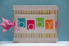 Bright baby card