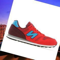 Italia New Balance 373 Uomo Scarpe Rosso / Blu In Linea Acquistare HOT SALE! HOT PRICE!
