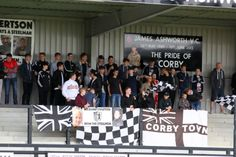Corby Town's fans are being urged to carry on creating a positive atmosphere at…