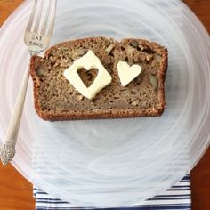 Healthier zucchini whole wheat bread recipe that is flavor and fiber-packed!  Delicious and moist.  Perfect for breakfast or a snack.