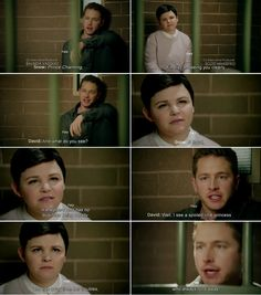 """""""Well, I saw a spoiled little princess who ran away from her troubles, who always runs away."""" Charming and Snow White - 4 * 10 """" Shattered Sight"""""""