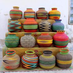Baba Tree Baskets: Ethically sourced hand woven and of the highest quality from Bolgatanga Ghana. Arriving at The Baba Trees compound every day are dozens sometimes hundreds of weavers men, women, children and students many of whom The Baba Tree has been working with for years. These are the people that you are supporting when you purchase one of their beautiful baskets. Each basket is completely unique and something you will treasure forever.
