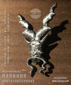 Markhor Northern Command Lapel Pin ! Extreme 3D made in Metal - Price : 2050 Whatsapp 03338345558 Guarding the Frontiers ! Markhor is the national animal of Pakistan. 'Unverified legends' from centuries reveal that Markhor defends from bad,evil omen.It was Famous to Hunt down Snakes and Kill them by biting the head off , and this is how it got its name : Mar - Snake , Khor - Eater. Himalayan ancient Tribes used to Keep Markhors in their camps to protect from poisonous snakes.The legendar Poisonous Snakes, National Animal, Metal Prices, Himalayan, Camps, Pin Badges, Lapel Pins, Dog Tags, Pakistan