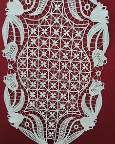 Romanian Lace, Point Lace, Needle Lace, Crochet Lace, Needlework, Projects To Try, Textiles, Embroidery, Pattern