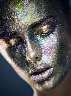 Glitter FAce                                                                   Tumblr